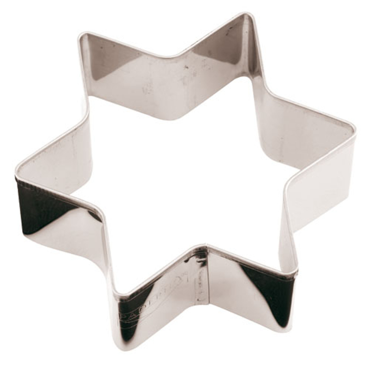 S/S Star Cookie Cutter, L 3.125 x W 3.125 x H 1.125