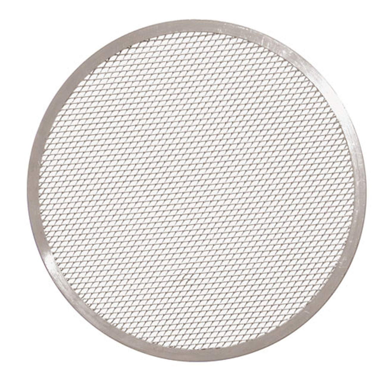 19 5/8 Aluminum Pizza Screen, L 19.625 x W 19.625 x H 0.25