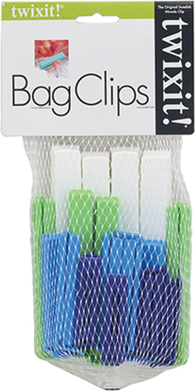 Twixit Bag Clips, Set of 20