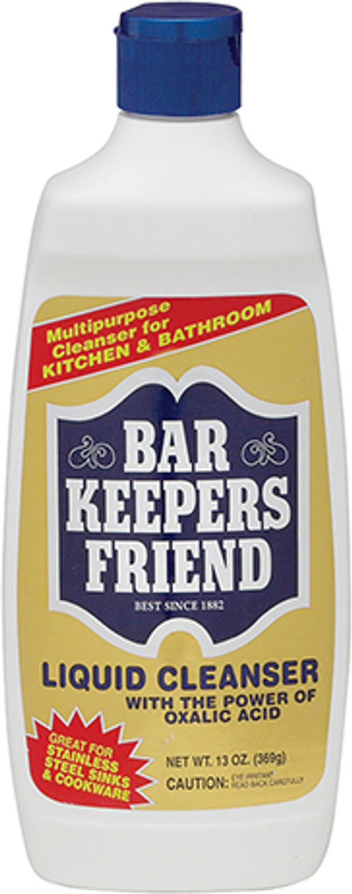 Bar Keeper Friend Liquid Cleanser, 13oz