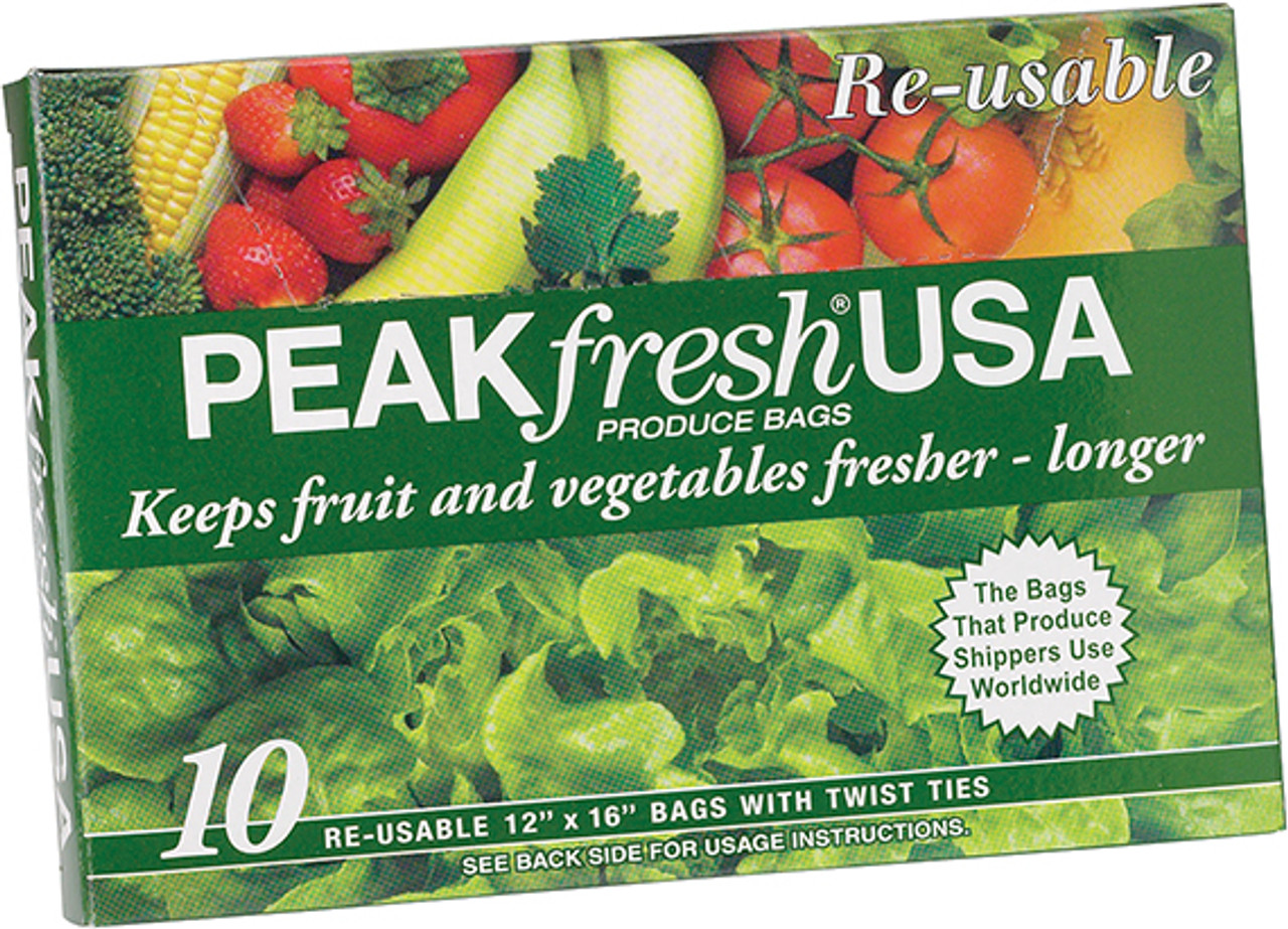 Peakfresh Produce Bags, Set of 10
