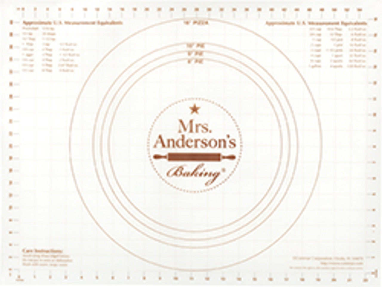 Mrs Anderson's Baking Non-Slip Pastry Rolling Mat