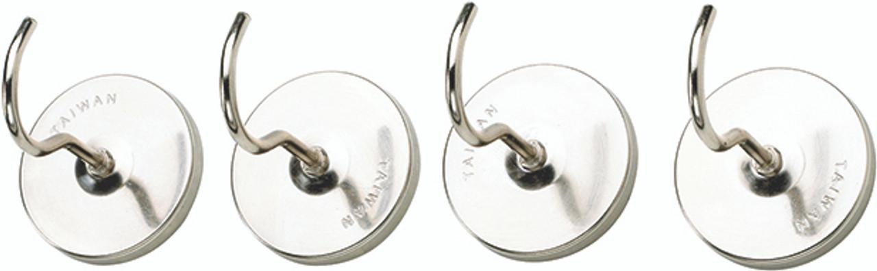 HIC Magnetic Hooks, Set of 4