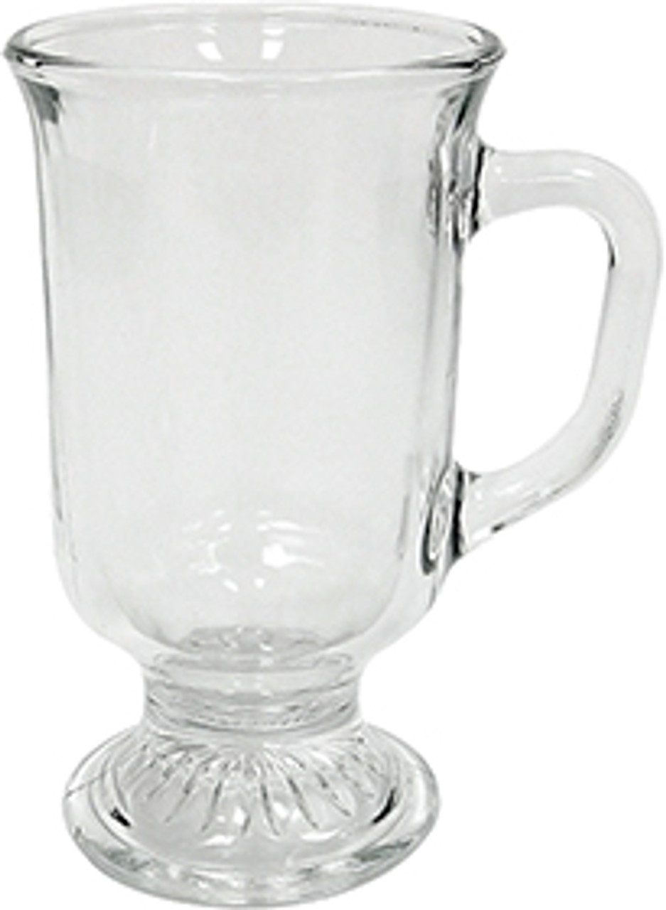 Anchor Irish Coffee Mug, Glass, 8oz