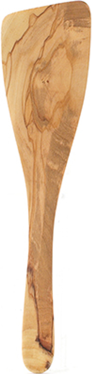 Italian Olive Wood Wide Spatula, 12.5in