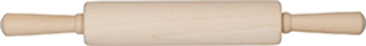 Mrs Anderson's Baking Hardwood Classic Rolling Pin, 10in