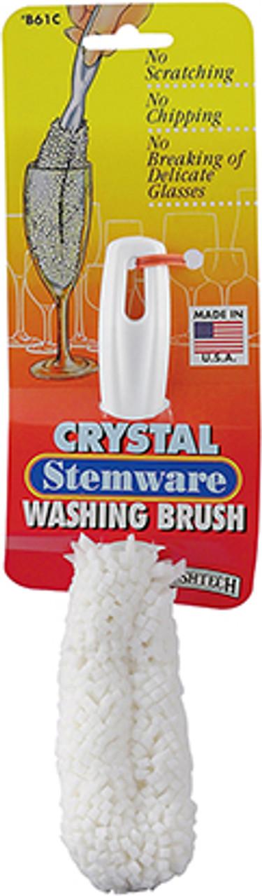 Brushtech Crystal and Stemware Brush Foam