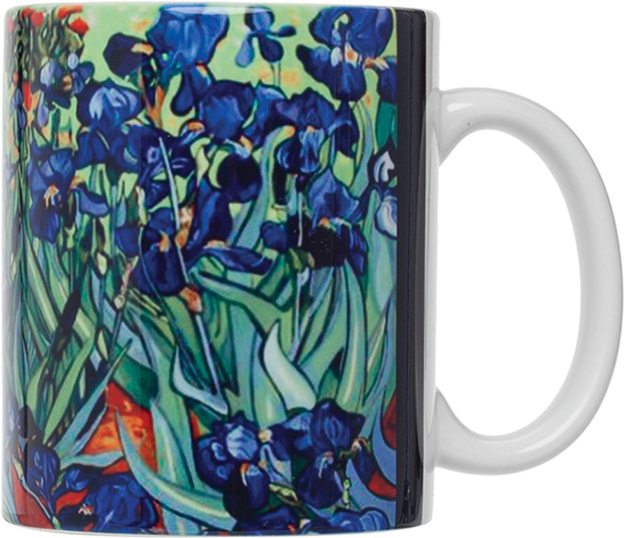 HIC Van Gogh Mug,, Les Irises, Set of 4