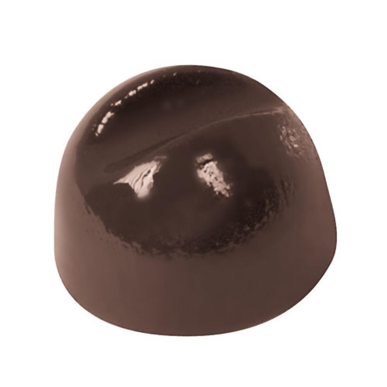 "Chocolate Mold, DIA 1"" X H 43/64"""