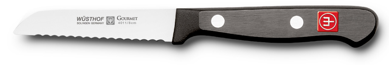 Wusthof Trident 3in Serrated Paring Knife