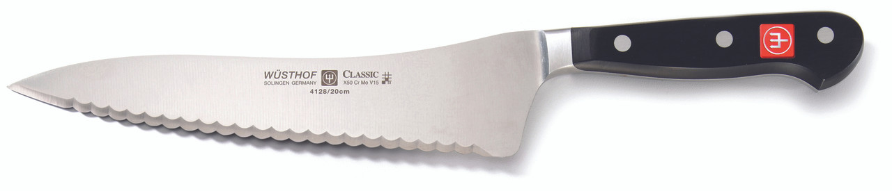 Wusthof Trident 8in Offset Deli Knife