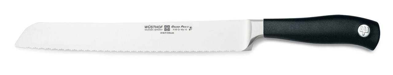 Wusthof Trident 9in Double-Serrated Bread Knife