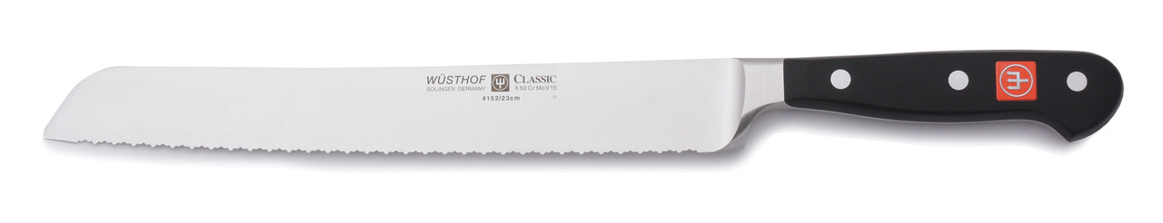 Wusthof Trident 10in Double-Serrated Bread Knife