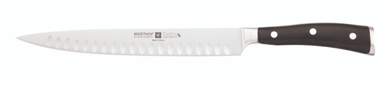 Wusthof Trident 9in Carving Knife, Hollow Edge