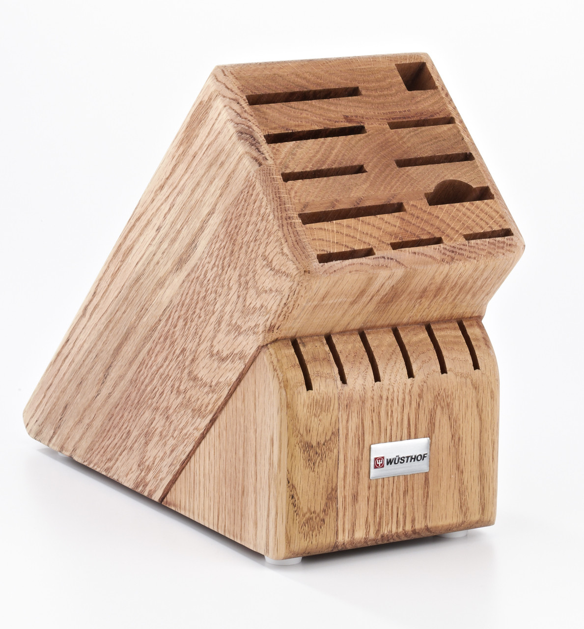 Wusthof Trident 17-Slot Oak Block