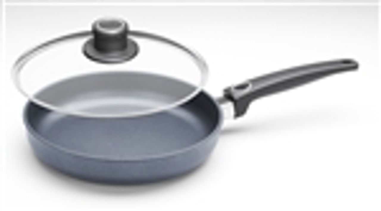 "Diamond Plus, Fry Pan w/ Lid, 9 1/2"" dia."