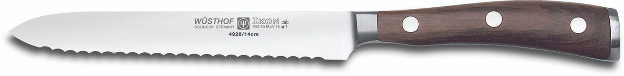 Wusthof Trident Serrated Utility Knife 5in
