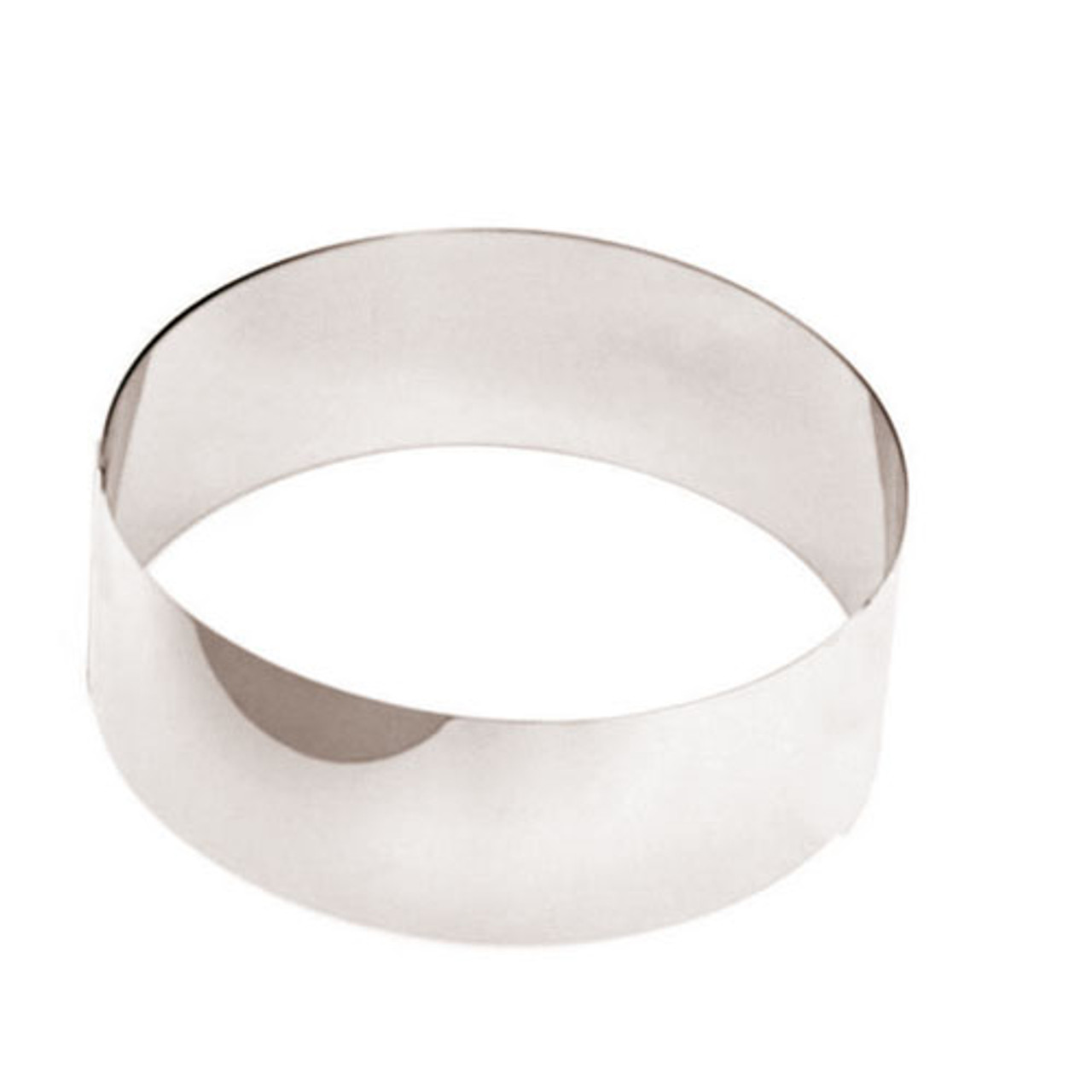 "Pastry Ring, Mousse, DIA 3 1/8"" X 1 3/4"""
