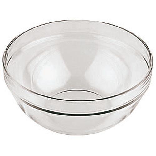 9 Round Glass Bowl, L 9 x W 9 x H 5