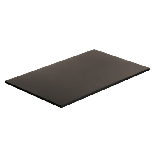 Black Polyethylene Cutting Board - (1/1 ) , L 20.875 x W 12.75 x H 0.5