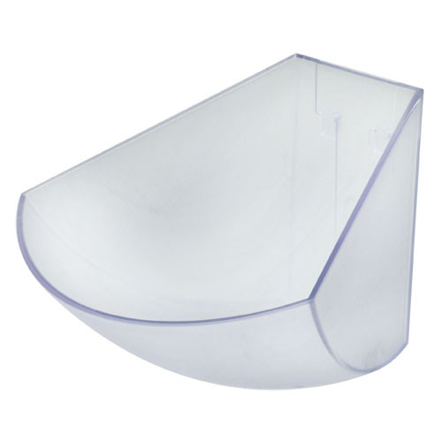 """1.1 Quart Frosted Acrylic Bin (spare part), L 7 5/8"""" x W 6 5/8"""" x H 4"""""""