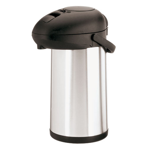 Push-Button Airpot (3 5/8 qt.), L 7 x W 7 x H 17