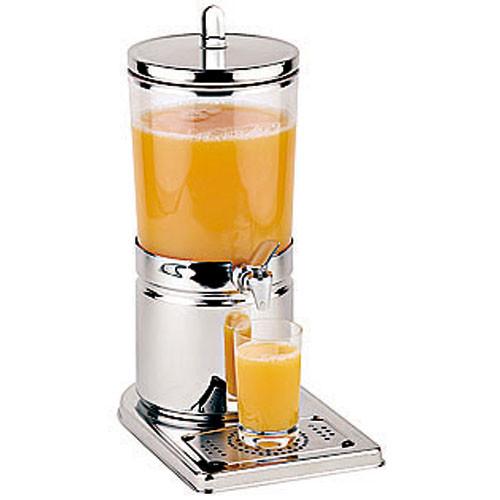 4.2 Quart Polypropylene Juice Dispenser, L 12.5 x W 8.25 x H 17