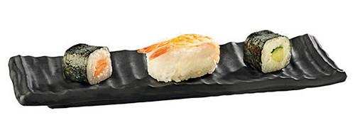 Rectangular Serving Plate, Melamine, Black