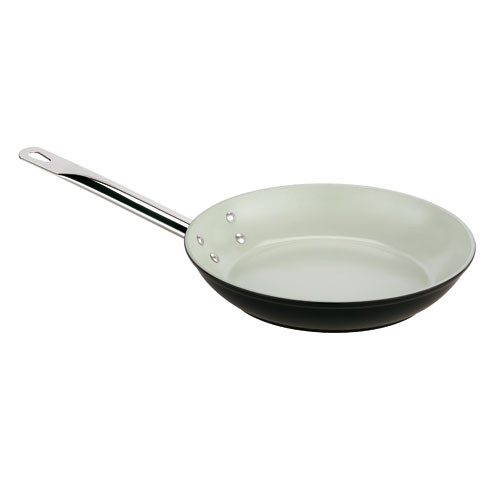 10 Aluminum Ceramic Coated Frying Pan, L 10 x W 10 x H 1.625