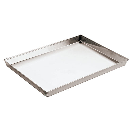 "Aluminzd Steel Baking Sheet, L 25 1/2"" X W 17 3/4"" X H 1 1"