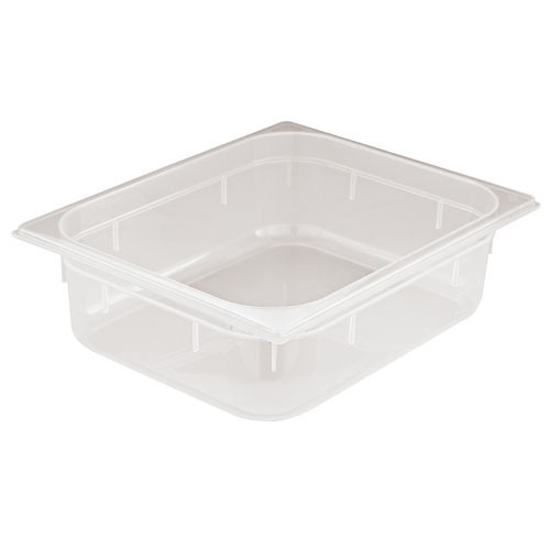 Paderno World Cuisine 7 inches by 6 1//4 inches Stainless-steel Standard Lid for Hotel Pan 1//6