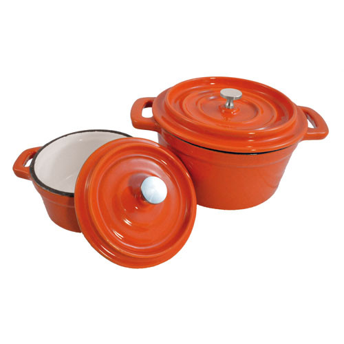 "Orange Mini Pan 5 1/2"""