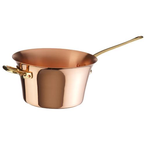 Polenta Pot, Solid Copper