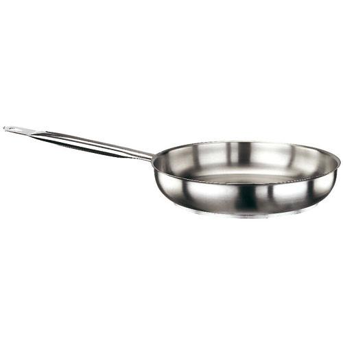 "Frying Pan, S/S R, DIA 14 1/8"" X H 2 3/8"""