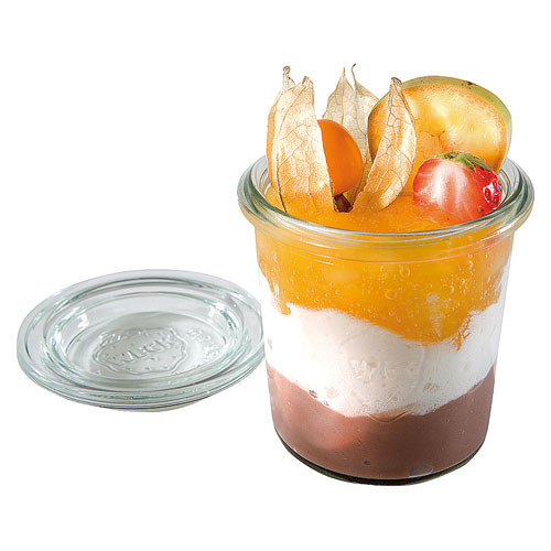 Mini Glass Jar, 4.7 Ounce, Set of 12