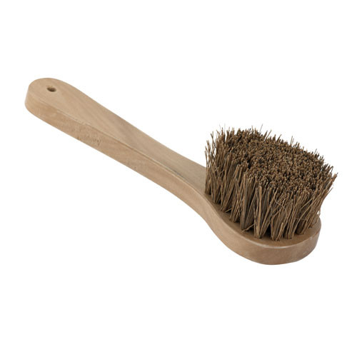 Wood Handled Wok Brush - 10 7/8 L, L 10.875 x W 3 x H 3