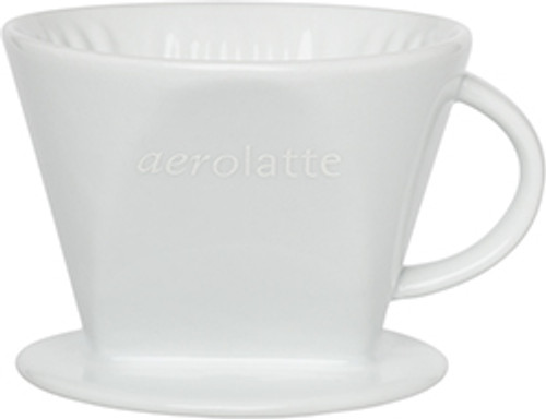 Aerolatte Ceramic Coffee Filter Cone, 2 Cup