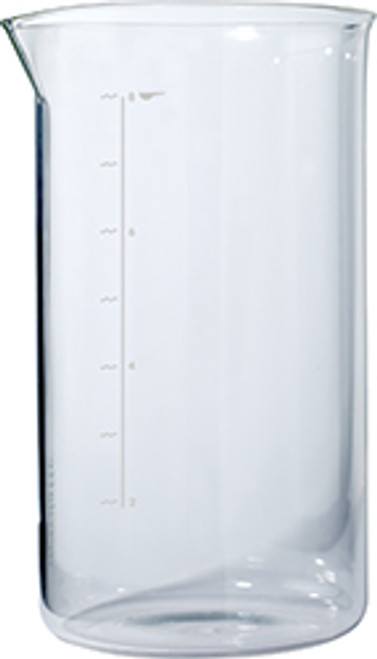 Aerolatte French Press Glass Beaker, 8 Cup