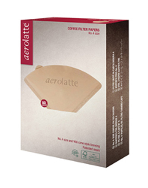 Aerolatte Unbleached Filter, 4 Cup