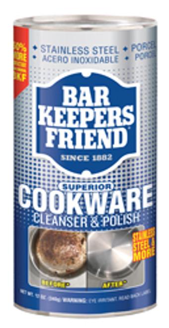 Bar Keeper Friend Cookware Cleanser Powder, 12oz