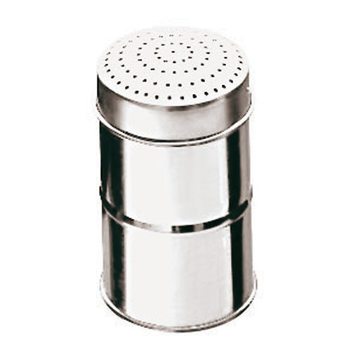 Paderno World Cuisine 1//4 Quart Stainless-steel Sugar Dredger with a Mesh Lid 47023-04