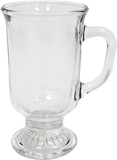 Anchor Irish Coffee Mug, Glass, 8oz