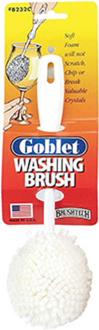 Brushtech Goblet Washing Brush Foam