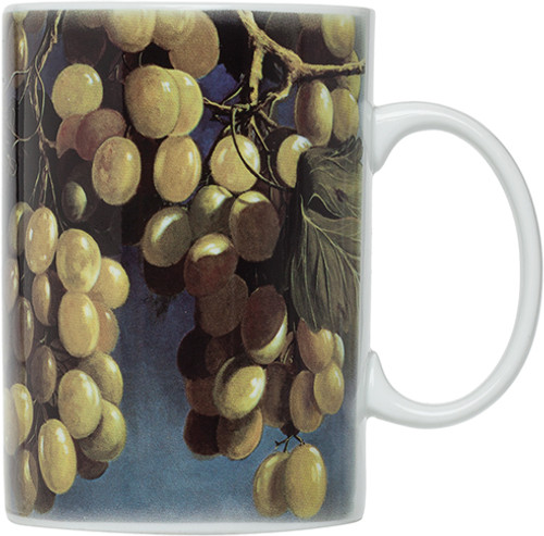 HIC Pergola Grapes Mugs,  Set of 4