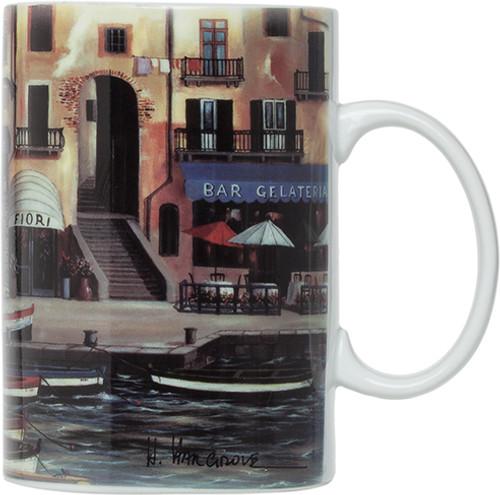 HIC Cinque Terre Mugs, Set of 4