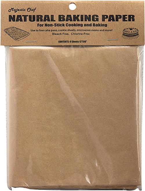 Regency Natural Parchment Paper Sheets, Set of 6 Sheets