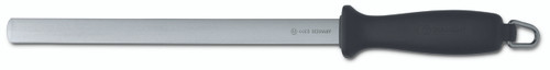 Wusthof Trident 10in Wide Diamond Sharpening Steel, Fine