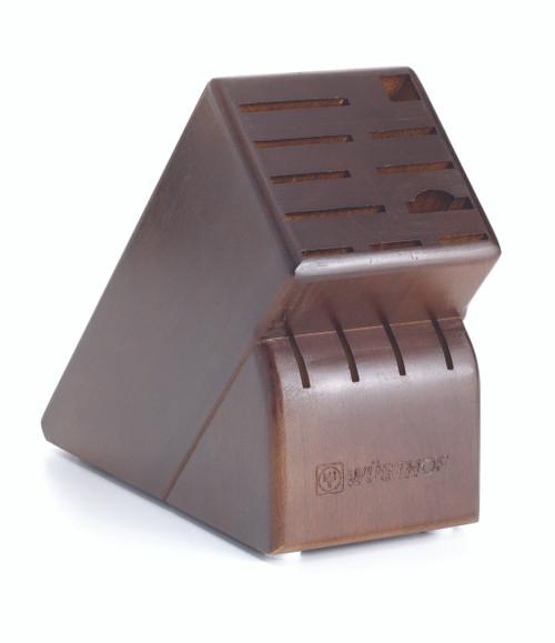 Wusthof Trident 15-Slot Walnut Block