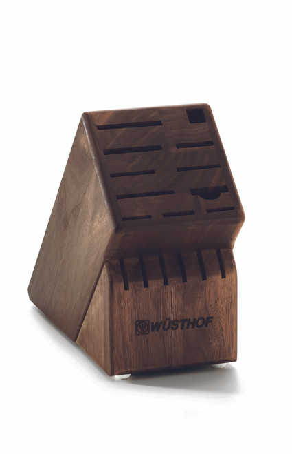 Wusthof Trident 17-Slot Walnut Block