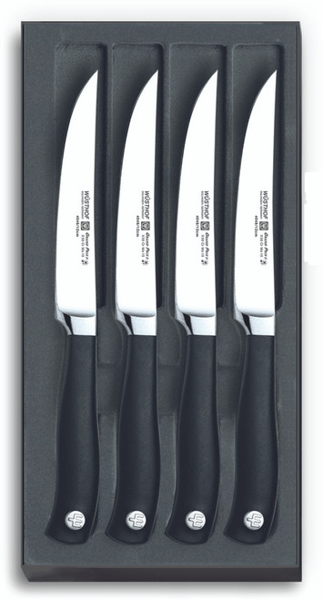 Wusthof Trident GRAND PRIX II Four Piece Steak Knife Set